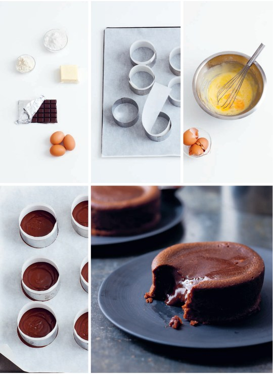 Self Saucing Pudding Steps