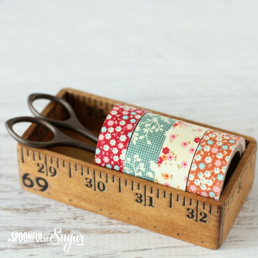 Tilda adhesive fabric tape