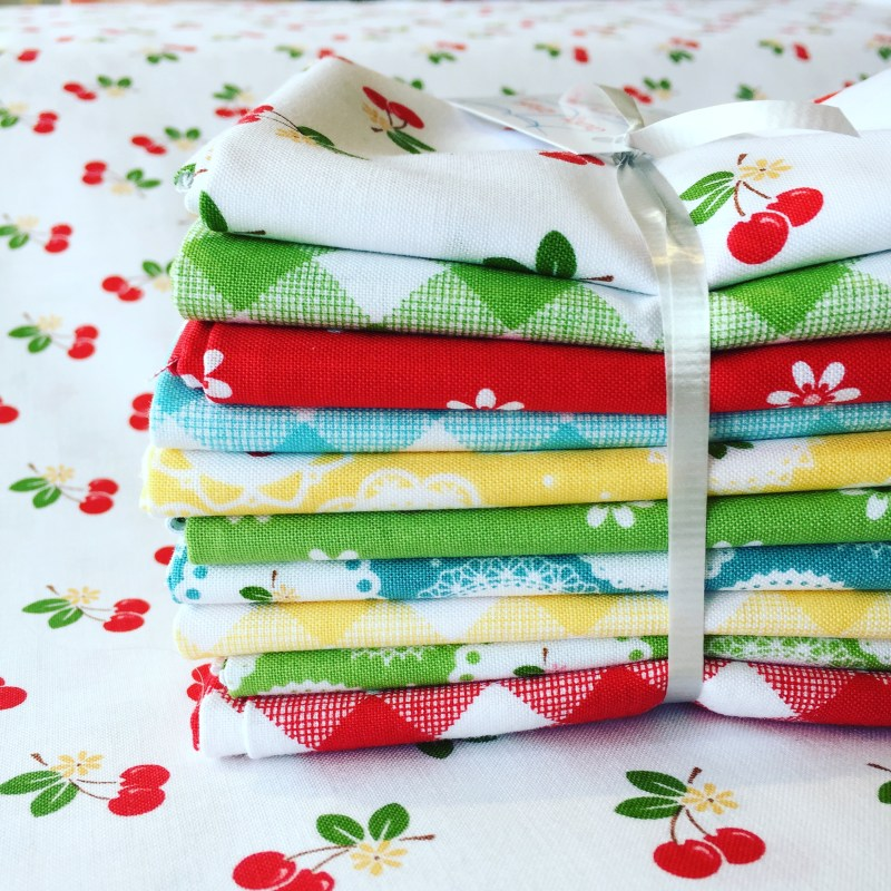 Pretty fabric from Country Clothesline