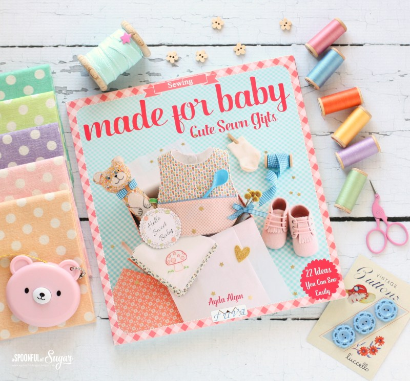 Made for Baby, Cute Sewn Gifts by Ayda Algin