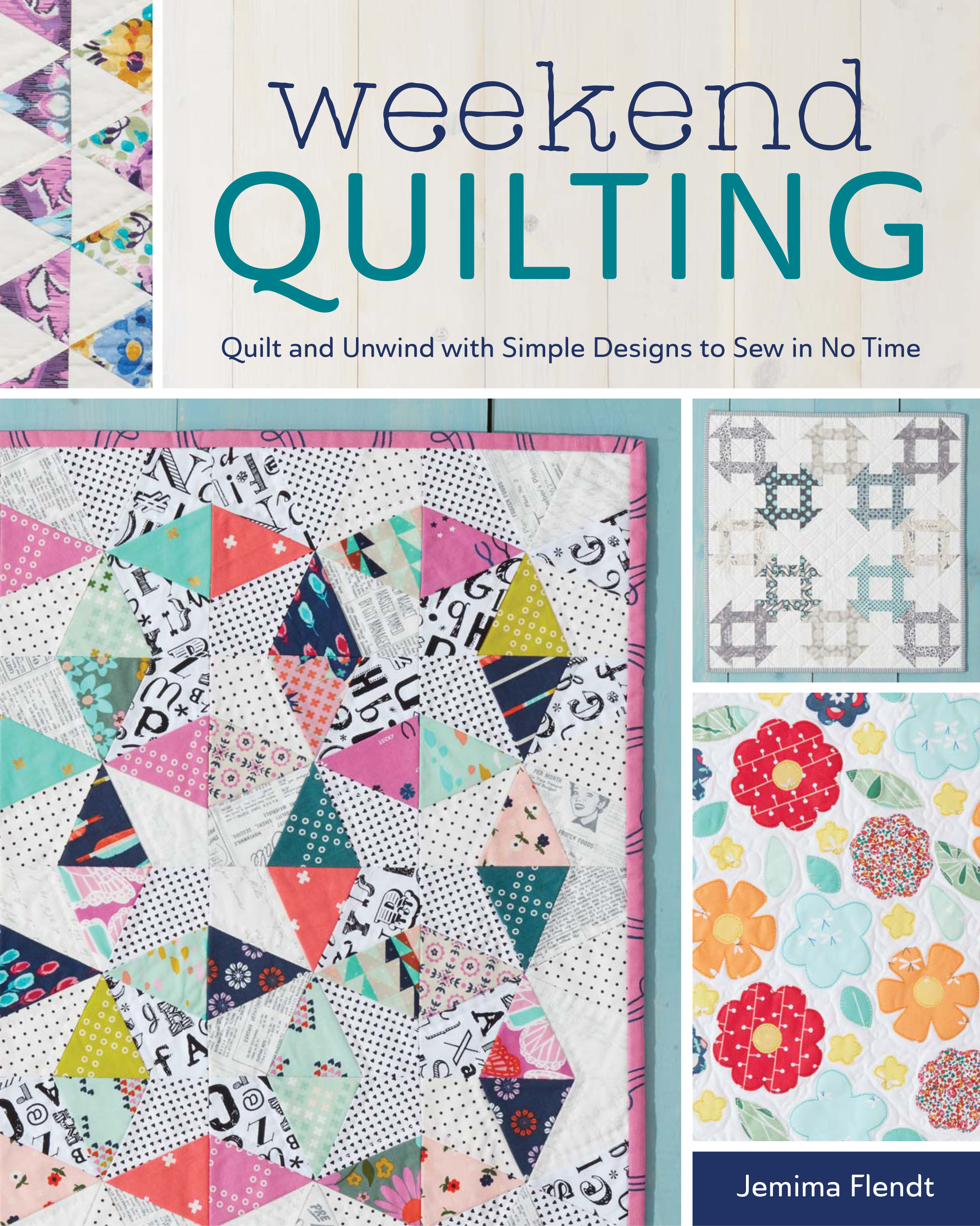 {Book Review & Giveaway} Weekend Quilting - A Spoonful of Sugar