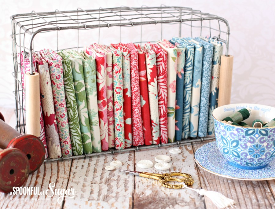 Cottage fabric collection by Tilda