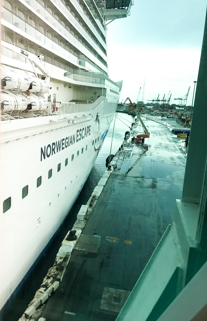 Hull of the Norwegian Escape