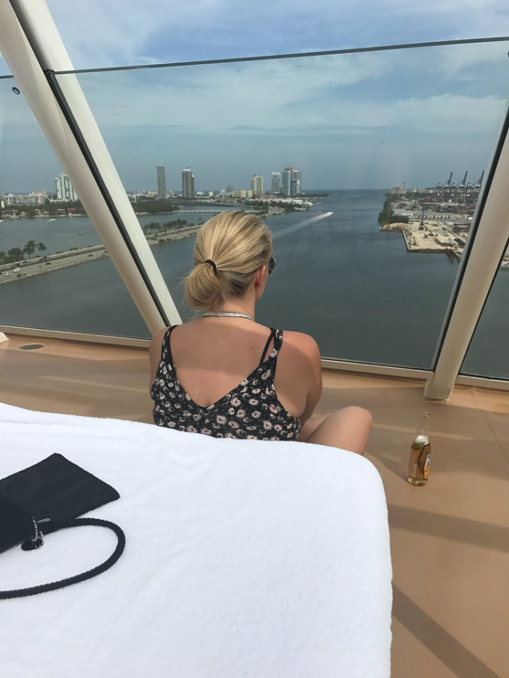 Sail away on the Haven sun deck