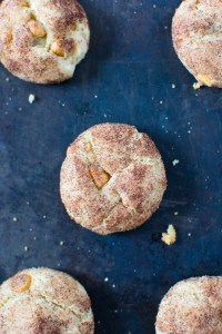 Butterscotch Snickerdoodles | Butterscotch Snickerdoodles are a sweet sugar and cinnamon dusted cookie made with a twist by adding butterscotch chips. Not your average snickerdoodle cookie!