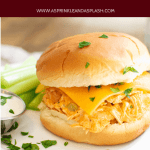 Instant Pot Buffalo Chicken Sandwiches Pin 2