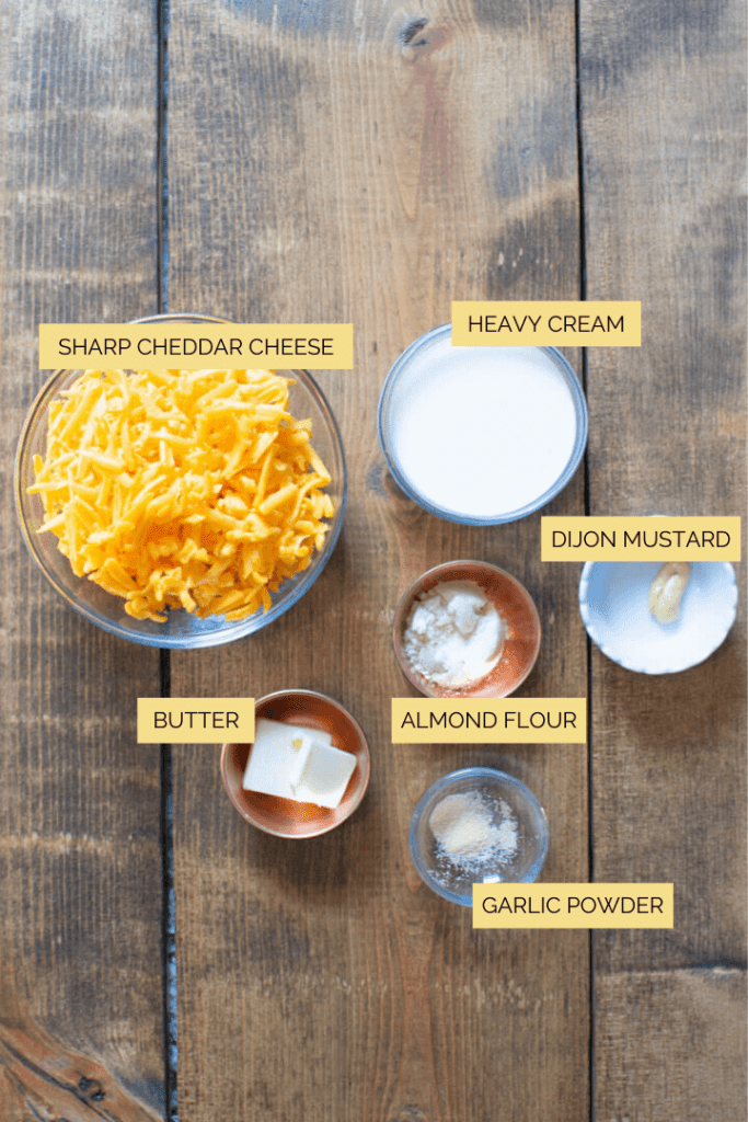 Keto Cheese Sauce Ingredients