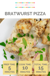 Bratwurst Pizza Pin 1