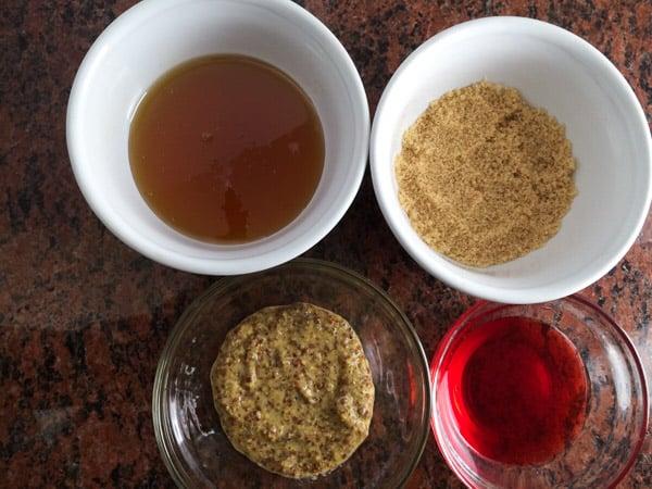 honey mustard sauce ingredient