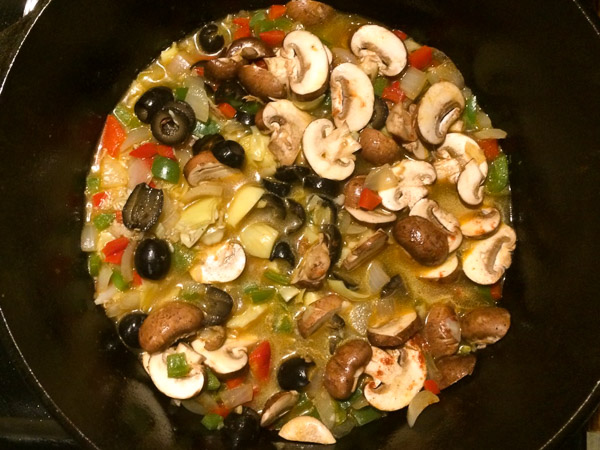 mediterranean rice ingredients