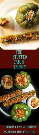 A nod to my south Louisiana birthplace, The Stuffed Cajun Trinity https://asprinklingofcayenne.com/stuffed-cajun-trinity/