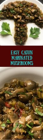 Offering authentic south Louisiana flavor, these easy Cajun marinated mushrooms are perfect for everyday eats or special occasion treats. http://asprinklingofcayenne.com