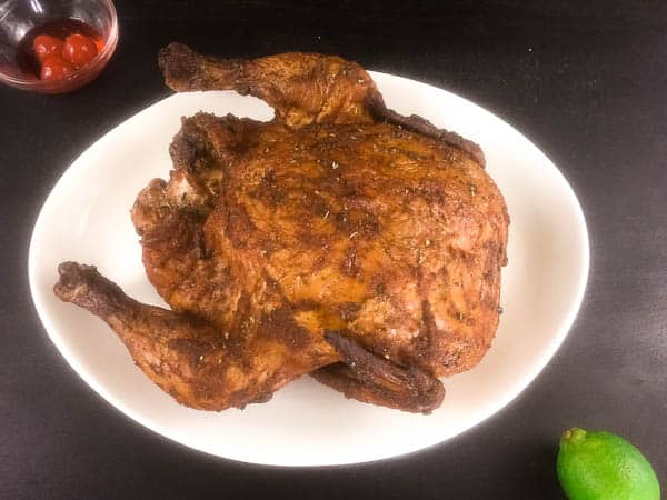 Maraschino Cherry Lime Smoked Chicken Recipe | http://asprinklingofcayenne.com