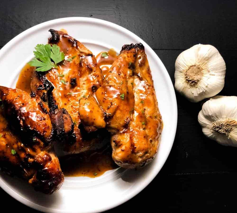 Gluten Free Creole Smoked Chicken Breasts. | https://asprinklingofcayenne.com