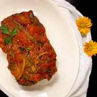 Keto Low Carb Gluten Free Creole Meatloaf