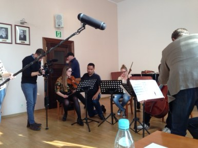 Masterclasses at the Gdansk Academy of Music. Shosti 3 and Mozart 465. And many more besides....