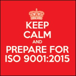 Prepare for ISO 9001: 2015