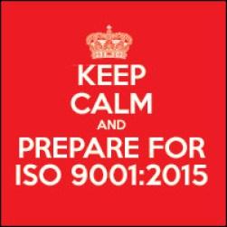 Prepare for ISO 9001: 2015