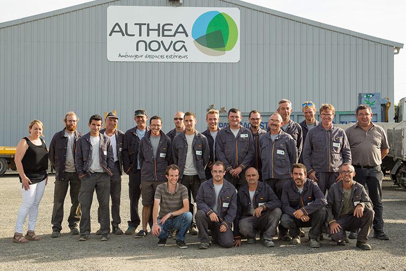 Althea-nova equipe