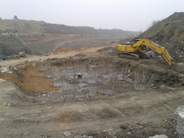 A1 - Pile Head Breaking as on 16 January 2014