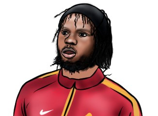 Gervinho cartoon