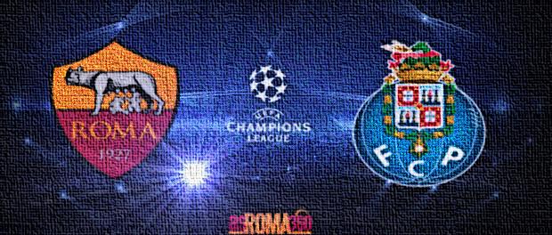 Roma-Porto Champions League