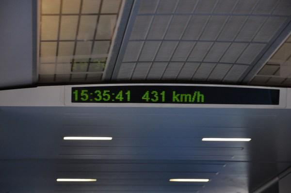 Maglev Speed Limit - Crazy!