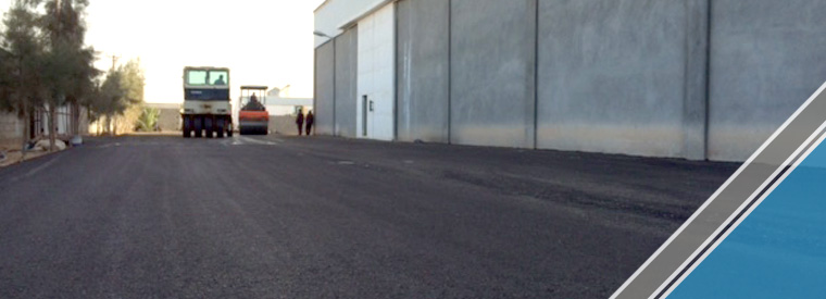 The end of the third part of the asphalt work (16)