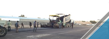The end of the third part of the asphalt work (18)