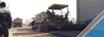 The end of the third part of the asphalt work (6)
