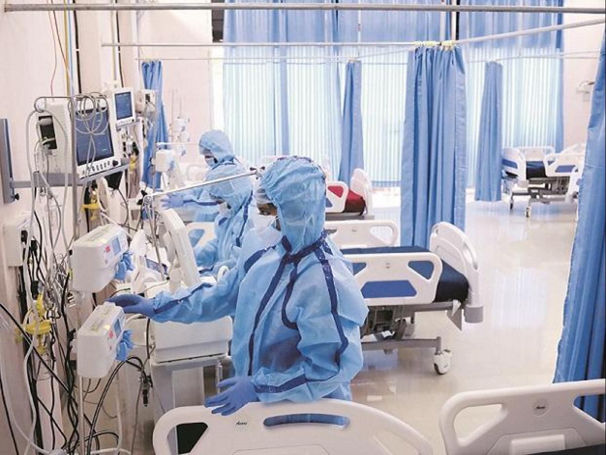 covid delhi ICU beds