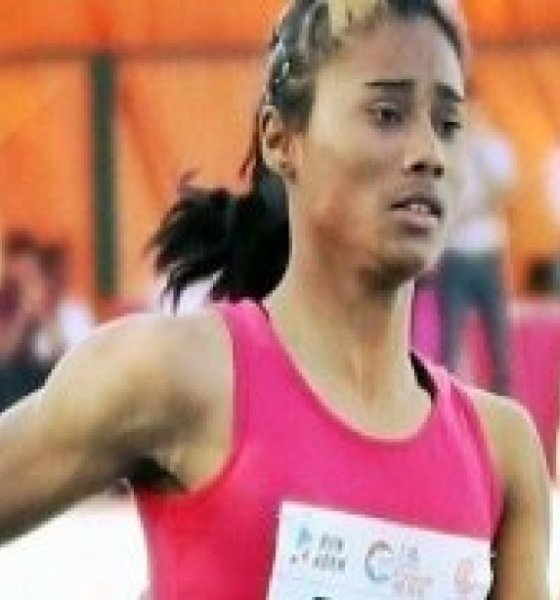 Hima das not qualified Olympics