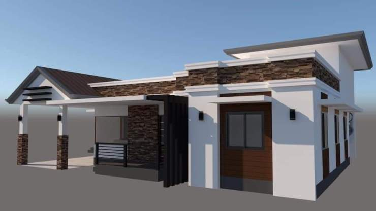 Assam type house engineering drawing