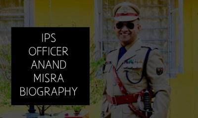 Anand Mishra Ips
