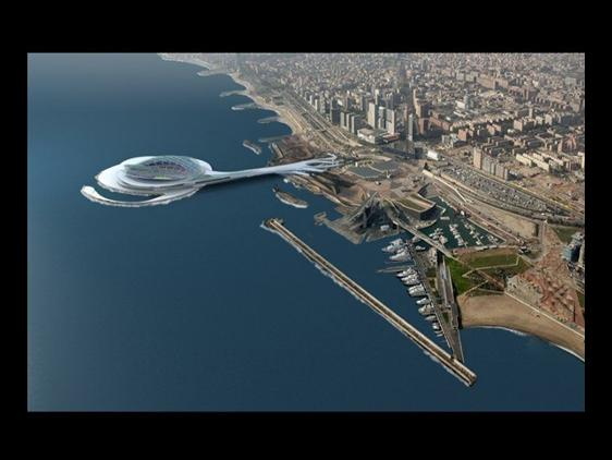 Plans released for Barcelona's new stadium (1/2)