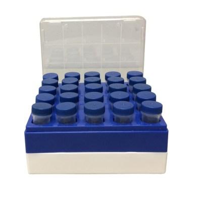Freezer Box for Macrocentrifuge tubes