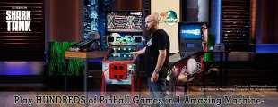 Virtual Pinball Machines by VPcabs Seen on Shark Tank