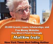 Matthew Lesko Entrepreneur, Author and Question Mark Guy