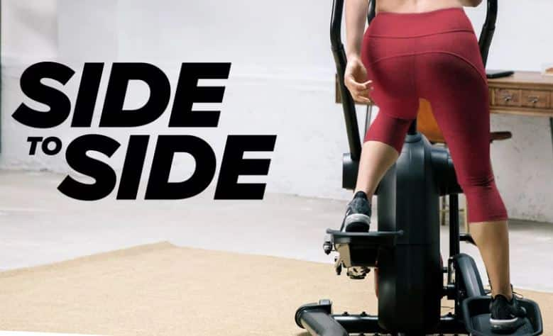 LateralX SIde to Side Elliptical Motion