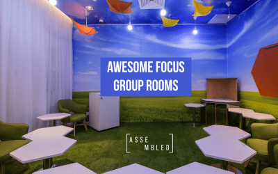 Focus group rooms bring out the insight