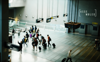 Business class travelers and Skype interviews