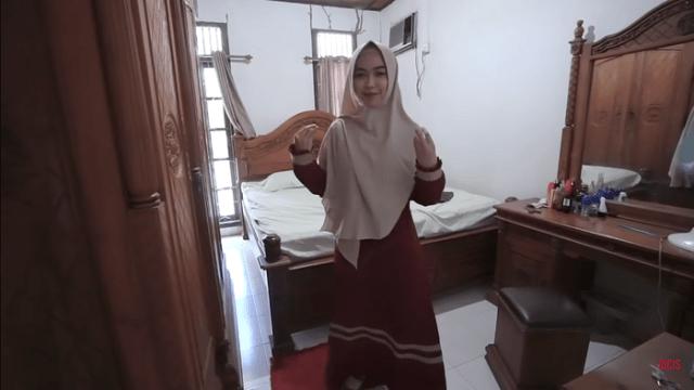 Kamar orang tua Ria Ricis di Batam