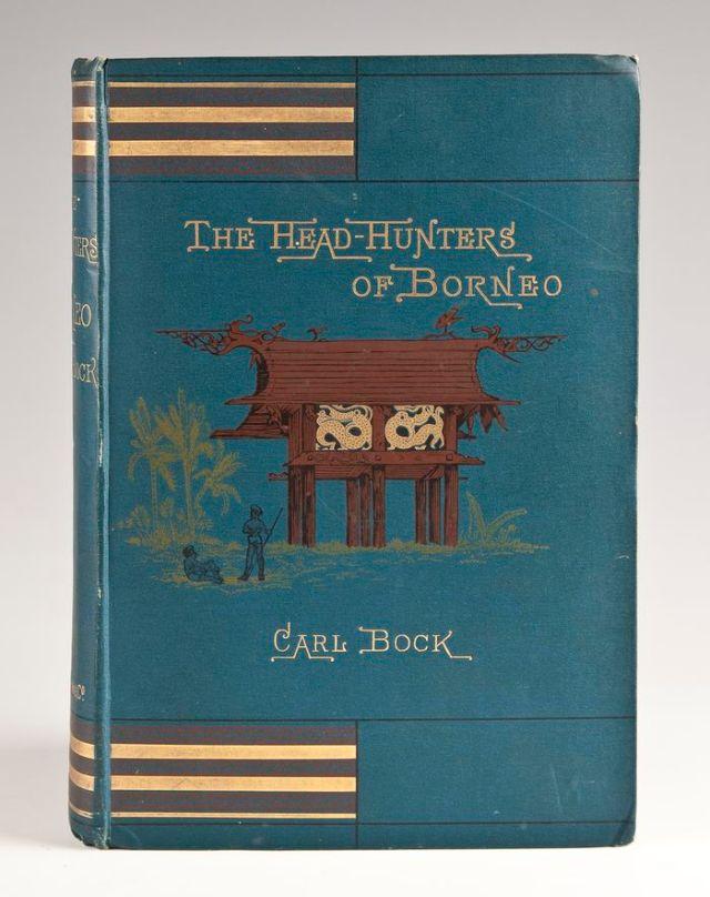 Dari penjelajahannya di Samarinda-Tenggarong-Banjarmasin dan pedalaman Kalimantan, Bock menulis buku berjudul Head Hunters of Borneo yang terbit pertama kali pada 1881.
