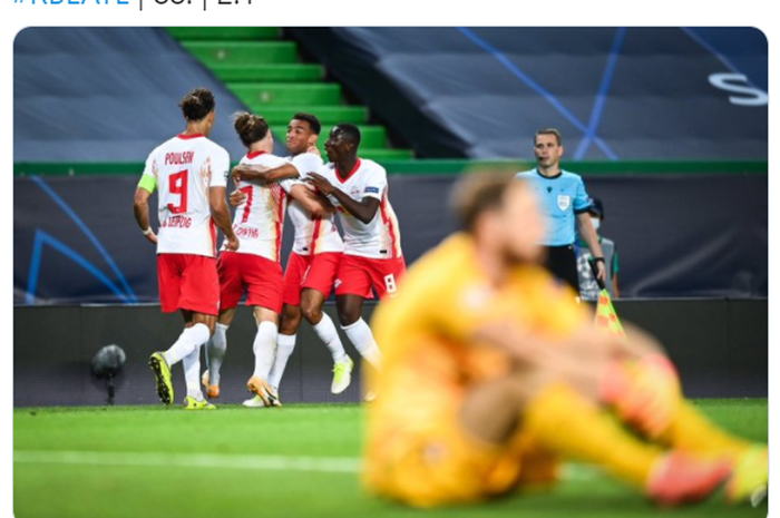 Champions League Results Defeat Atletico Madrid Rb Leipzig Goes To The Semifinals World Today News