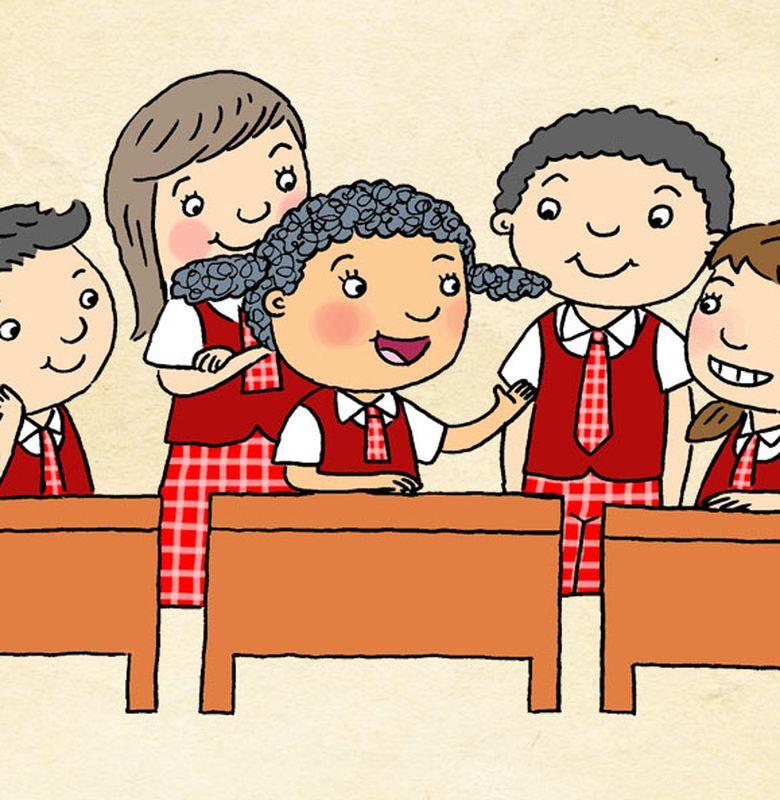 Gambar Kerjasama Di Sekolah Kartun Apa Hak Kewajiban Anak Di Rumah Dan Di Sekolah Semua Halaman