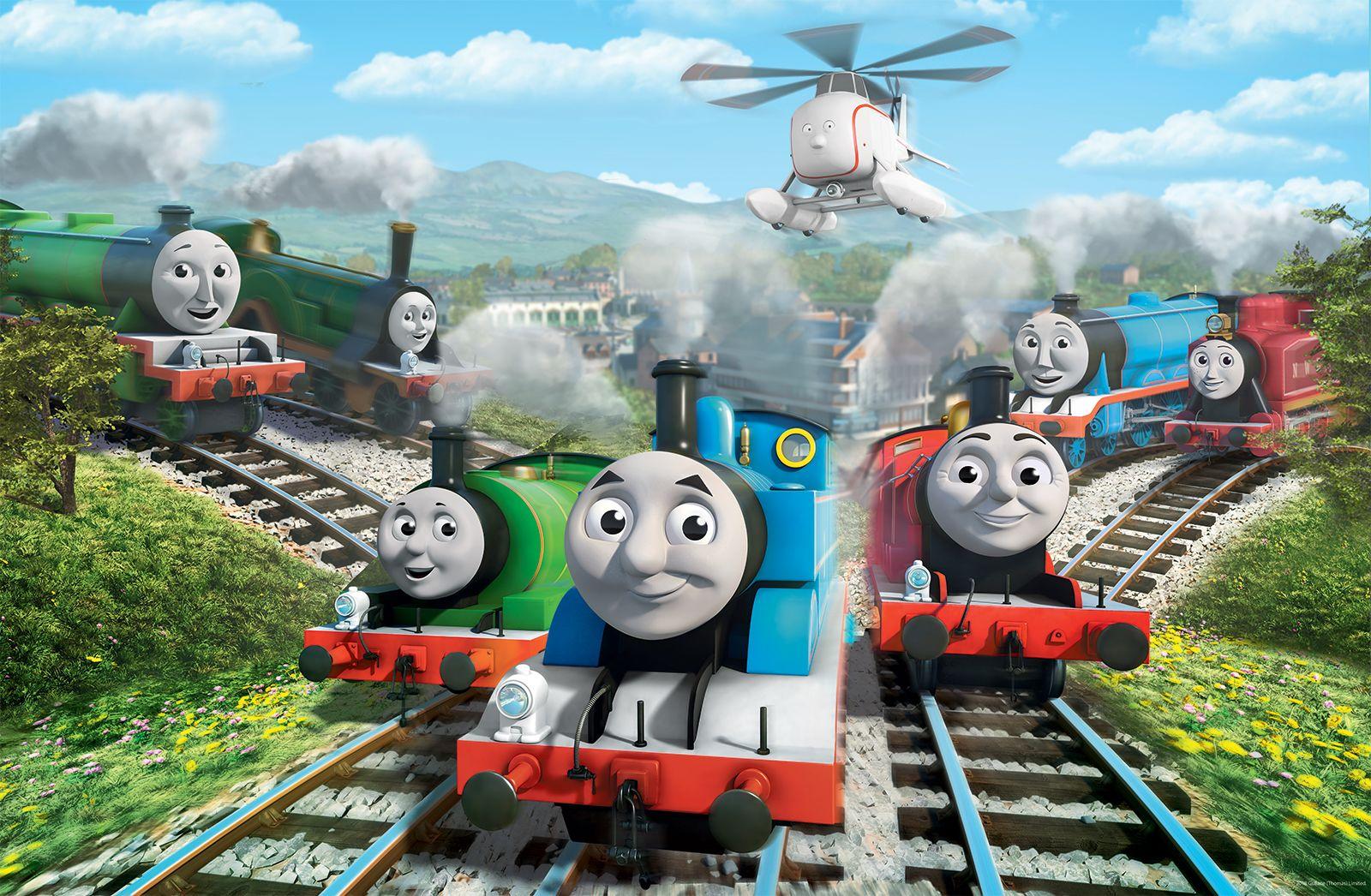 Gambar Kereta Api Thomas Hitam Putih Ini Nama Asli Kereta Uap Di Kartun Thomas And Friends Sudah Tahu Semua Halaman Bobo