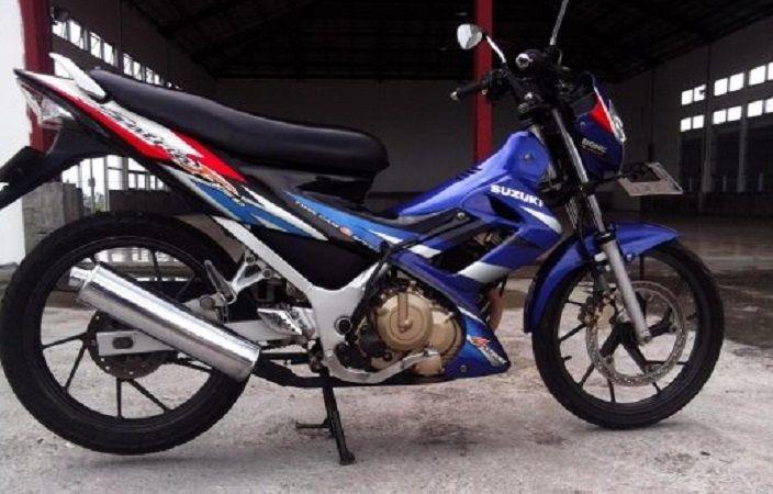 Gambar Modifikasi Satria Fu Thailand Korek Knalpot Standar Suzuki Satria F150 Tarikan Makin Beringas Cuy Motorplus
