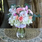 Pop Of Pink Bouquet By Venetian Flowers