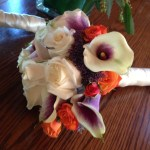 Rustic Bridal Bouquet In Bedminster Nj Blooms At The Hills Florist