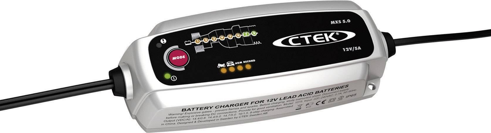 Ctek Mxs 5 0 56 305 Automatikladegerat 12 V 0 8 A 5 A Kaufen